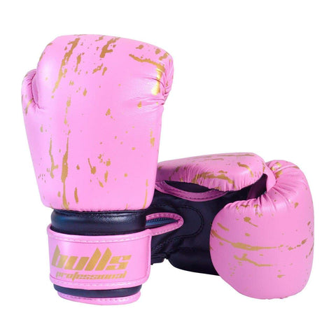 Bulls Professional Action Boxing Gloves - Pink/Black