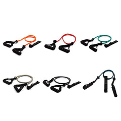 Fitness & Athletics Ultimate Power Tube - Resistance Bands With Handles (5lb - 30lb)