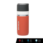 Stanley GO Bottle 16oz - Salmon