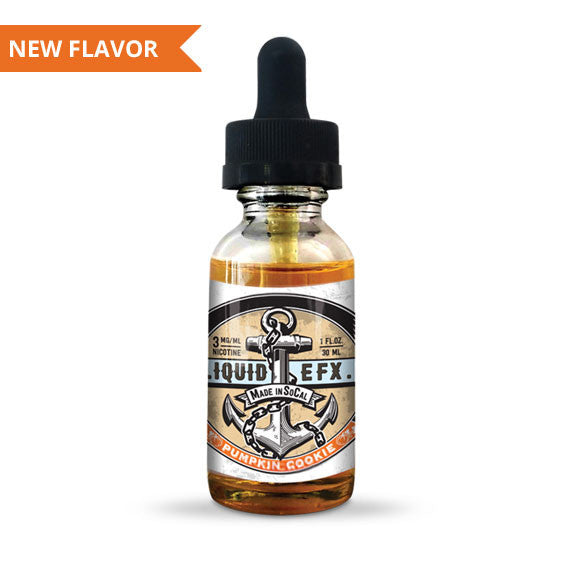 Liquid EFX Pumpkin Cookie (Pumpkin, Cookie Dough)