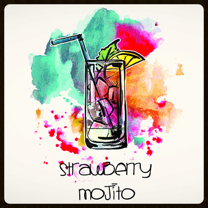 Wet Bar Strawberry Mojito