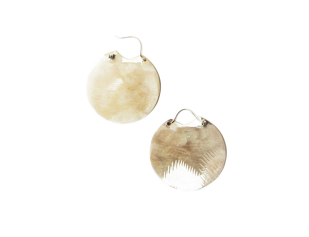 Silver Water Earrings