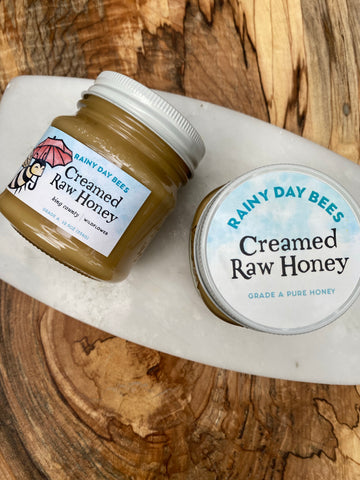 Creamed Raw Honey