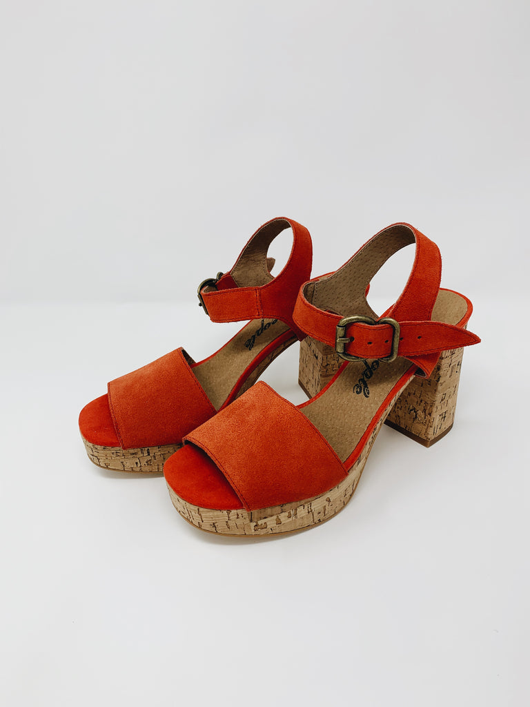 Free People | Brooke Platform | Red