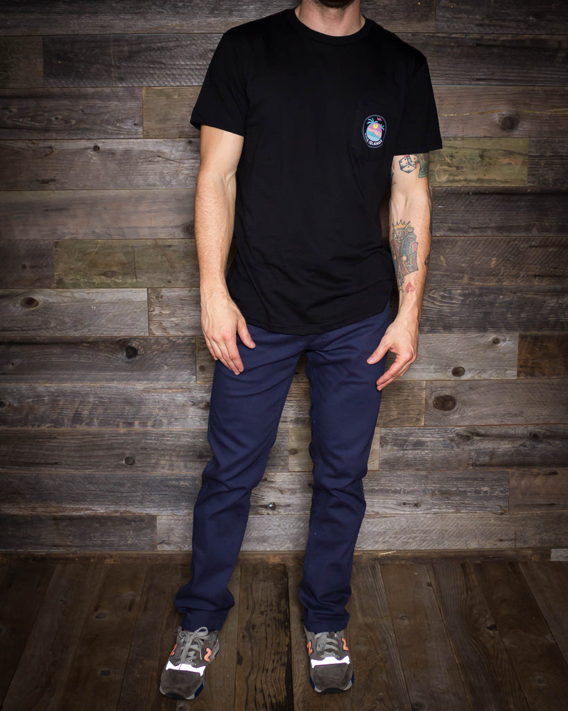Brixton | Reserve 5 Pocket Pant | Washed Navy