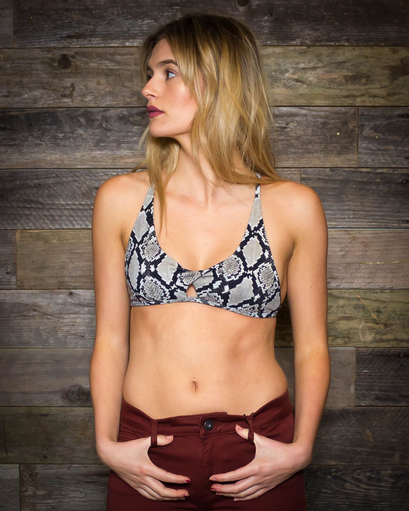 Indah | Apple Pie Bralette | Python