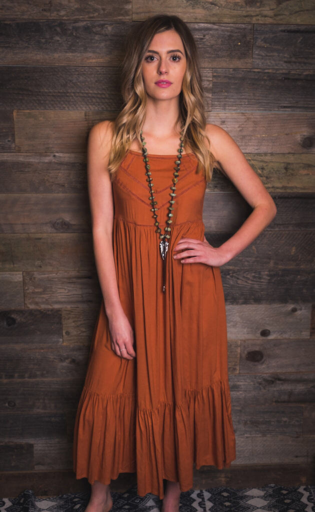 Kivari | Taj Maxi Dress | Copper