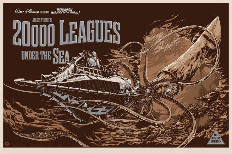 20,000 LEAGUES UNDER THE SEA (variant) by Ken Taylor