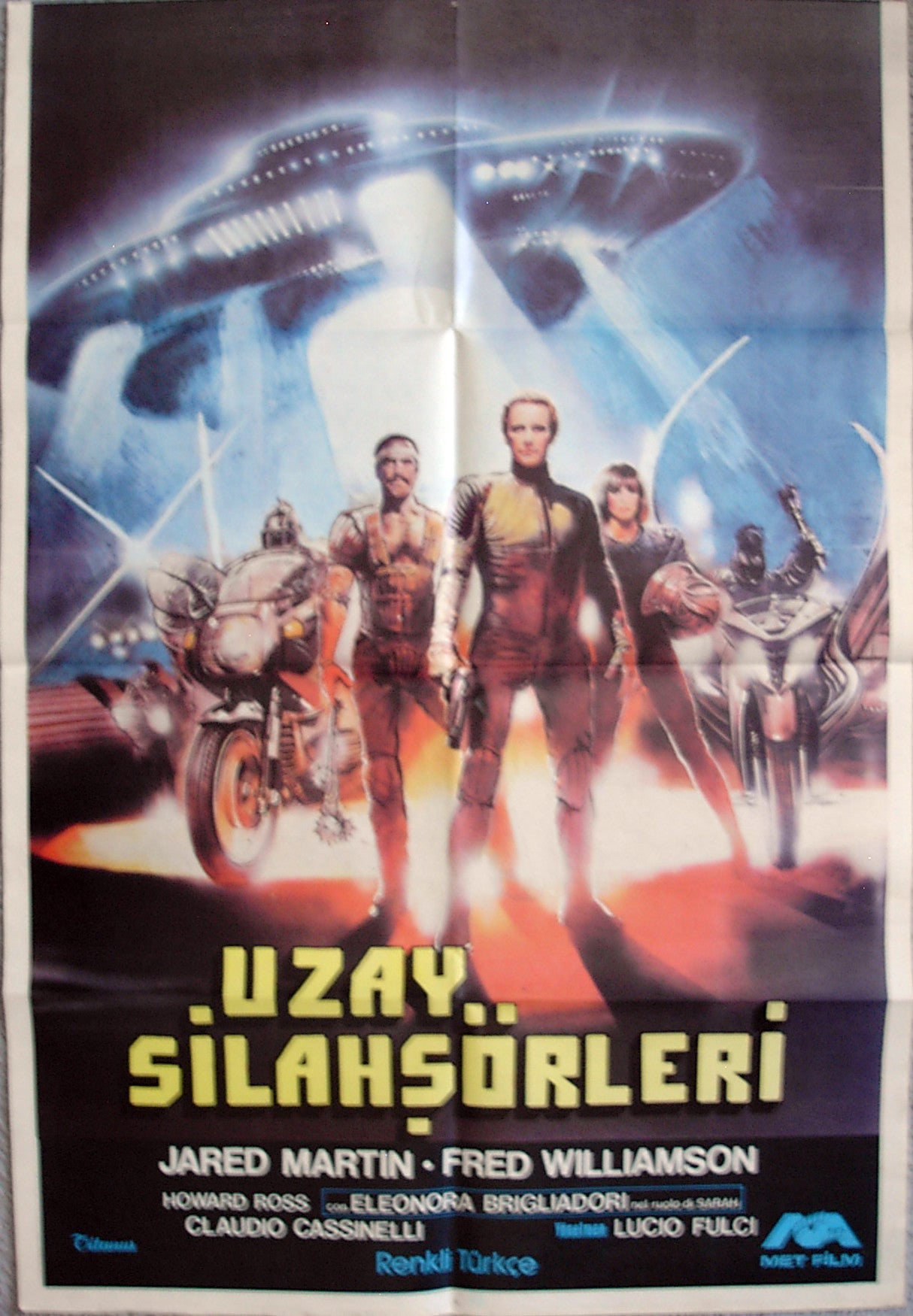 2072: NEW GLADIATORS - Turkish poster