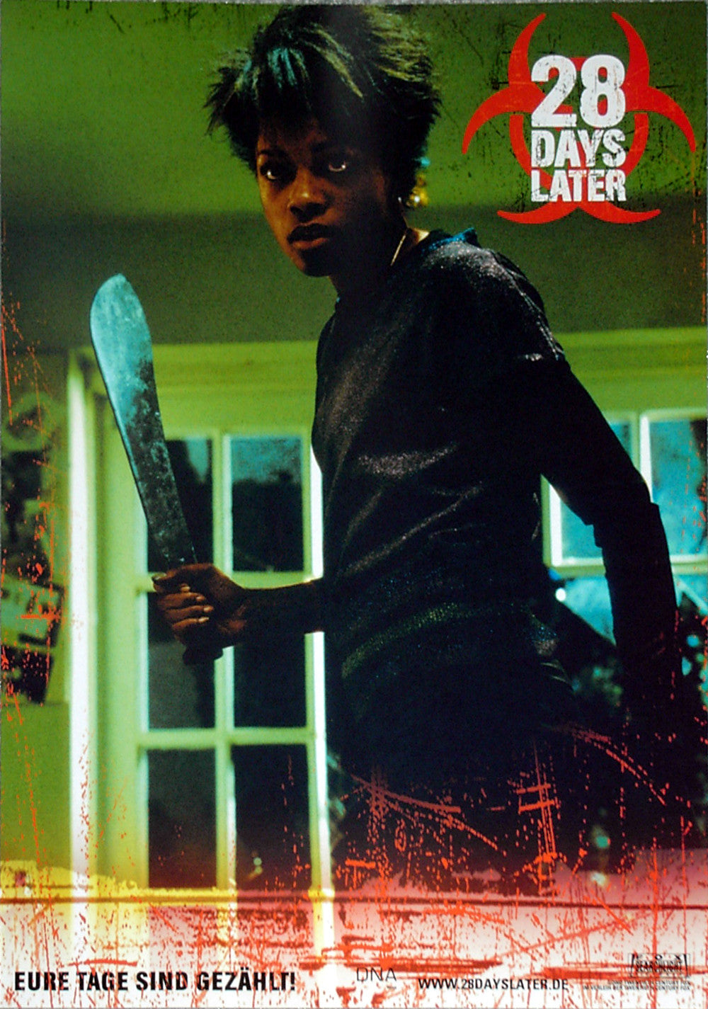28 DAYS LATER - German lobby card v4
