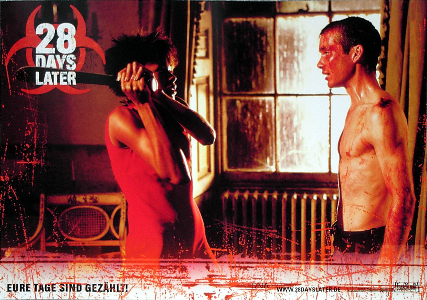 28 DAYS LATER - German lobby card v5