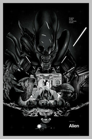 ALIEN (regular) by Martin Ansin