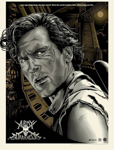 ARMY OF DARKNESS (variant) by Jeff Boyes