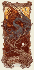 LORD OF THE RINGS: THE RETURN OF THE KING (regular edition) by Aaron Horkey