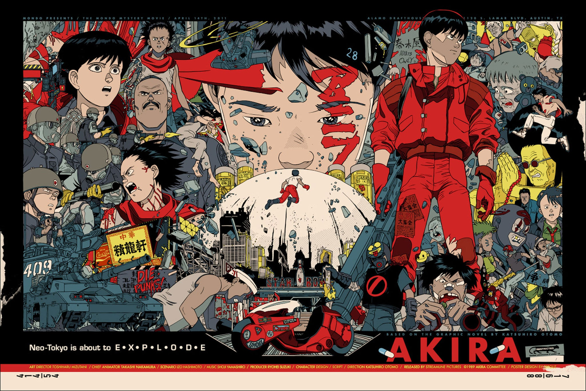 AKIRA (regular) by Tyler Stout