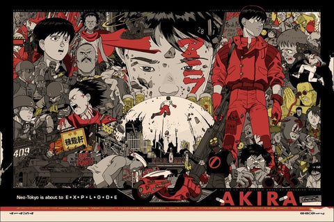 AKIRA (variant) by Tyler Stout