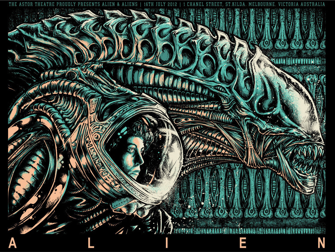 ALIEN by Godmachine