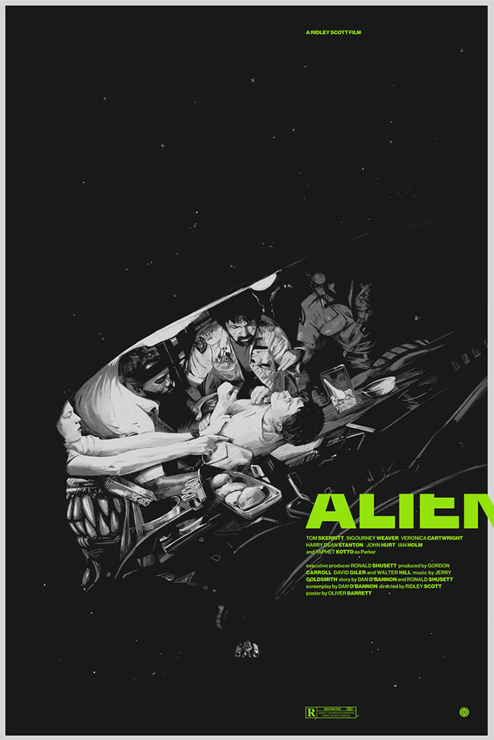 ALIEN by Oliver Barrett
