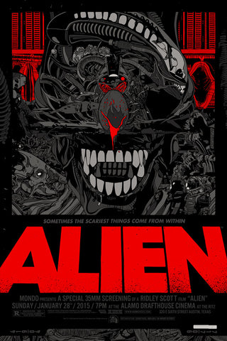 ALIEN (regular) by Tyler Stout