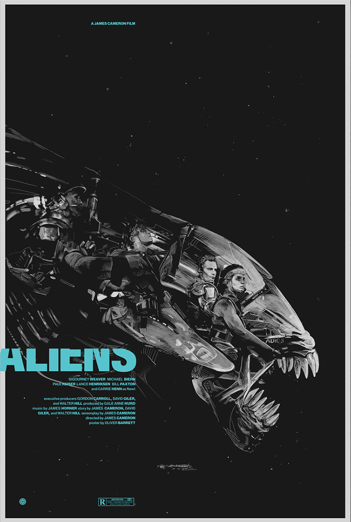 ALIENS by Oliver Barrett
