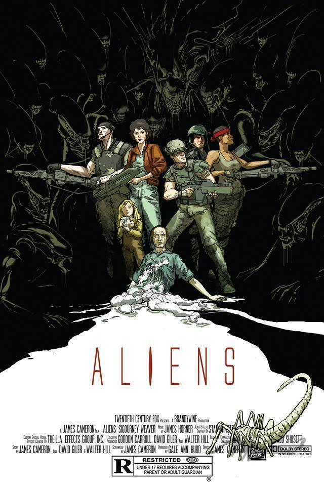 ALIENS (regular) by Riley Rossmo