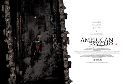 American Psycho by Matt Ryan Tobin