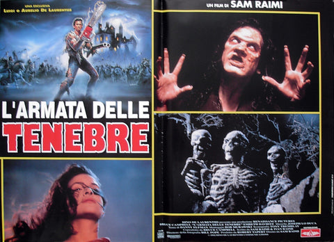ARMY OF DARKNESS - Italian photobusta poster v1