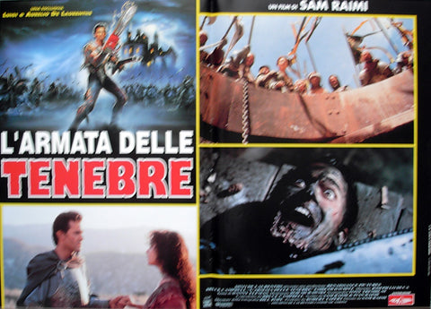 ARMY OF DARKNESS - Italian photobusta poster v3