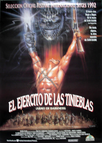 ARMY OF DARKNESS - Spanish poster