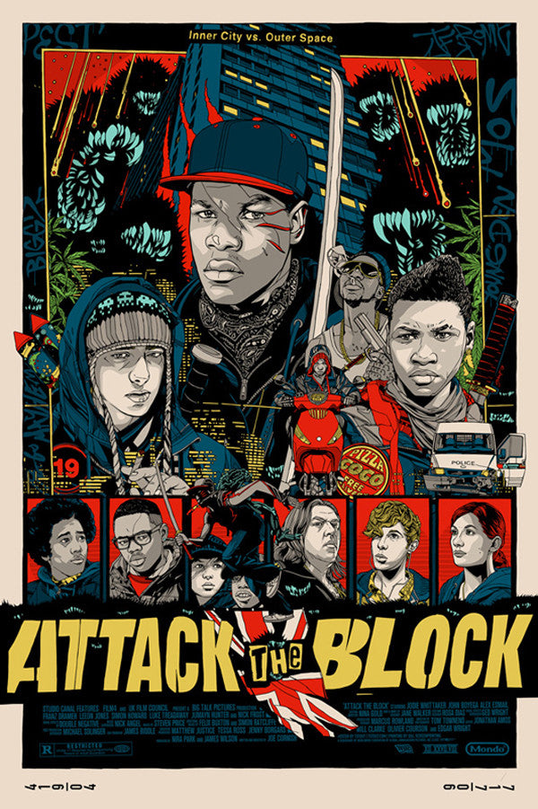 ATTACK THE BLOCK (regular) by Tyler Stout
