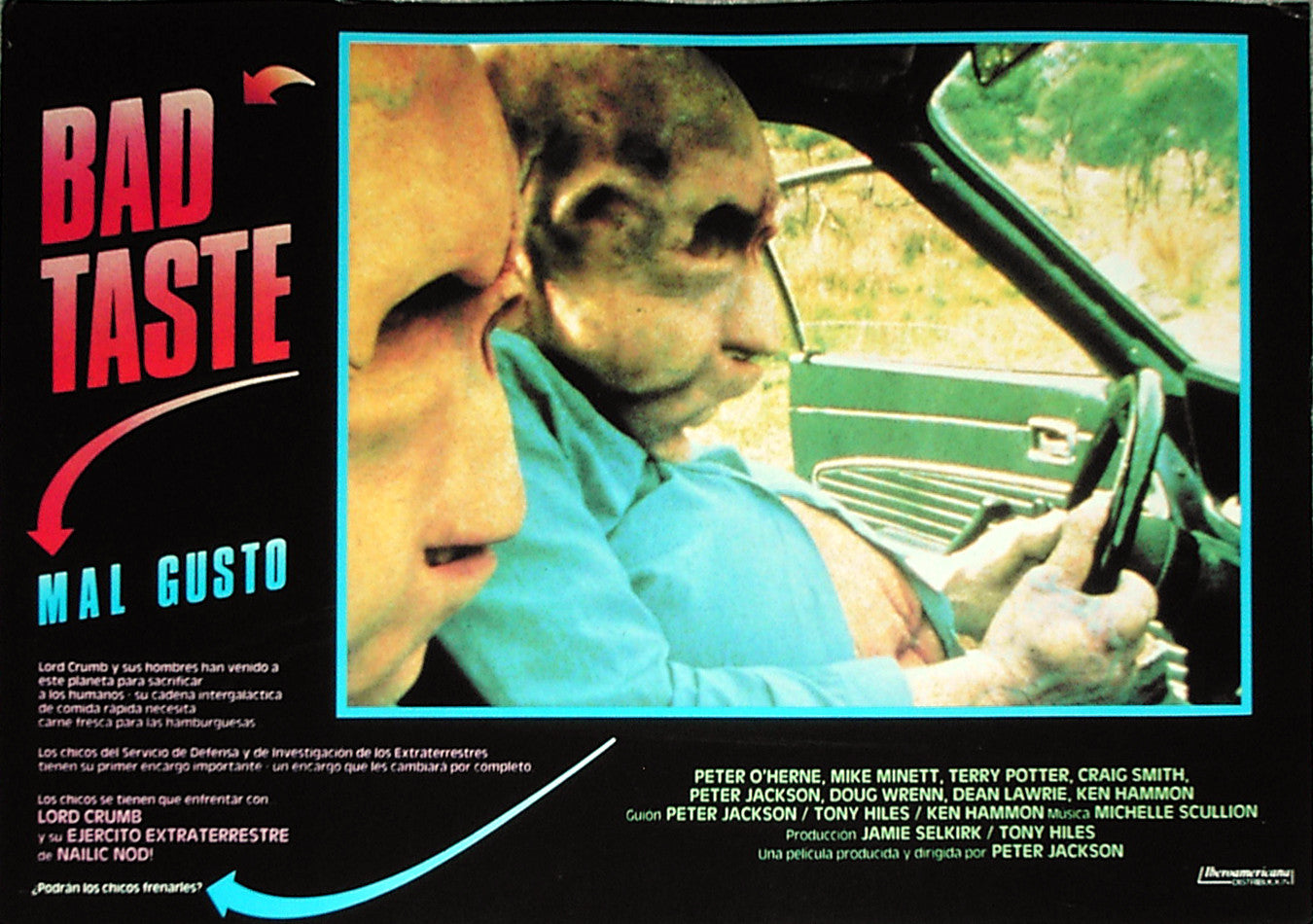 BAD TASTE - Spanish lobby card v6