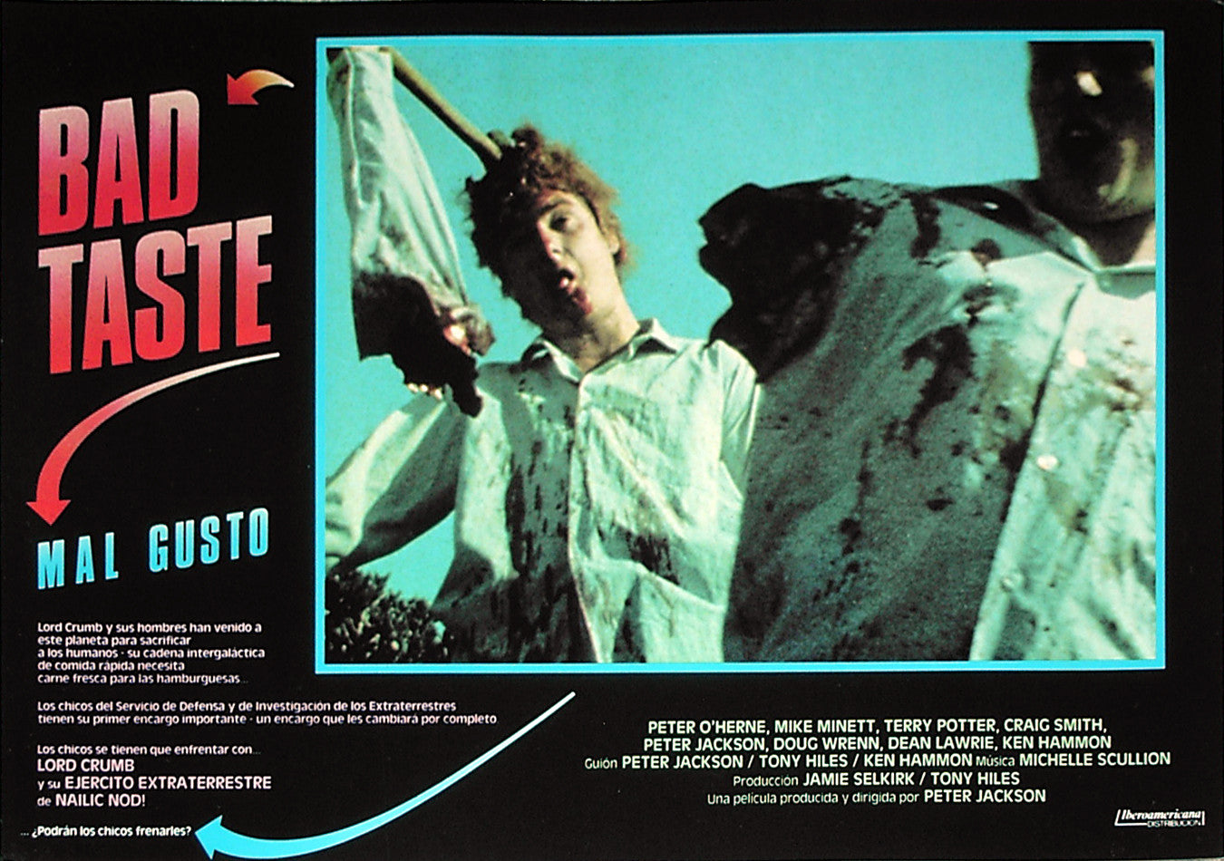BAD TASTE - Spanish lobby card v8