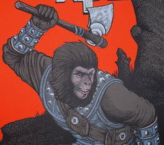 BATTLE FOR THE PLANET OF THE APES (regular) by Florian Bertmer