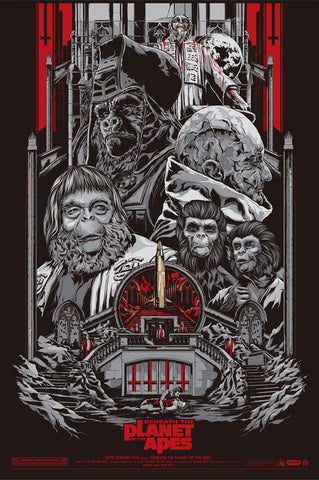 BENEATH THE PLANET OF THE APES (variant) by Ken Taylor