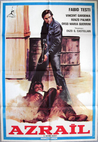 BIG RACKET, THE - Turkish poster