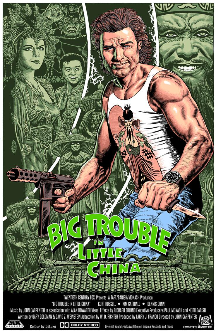 BIG TROUBLE IN LITTLE CHINA by Chris Weston