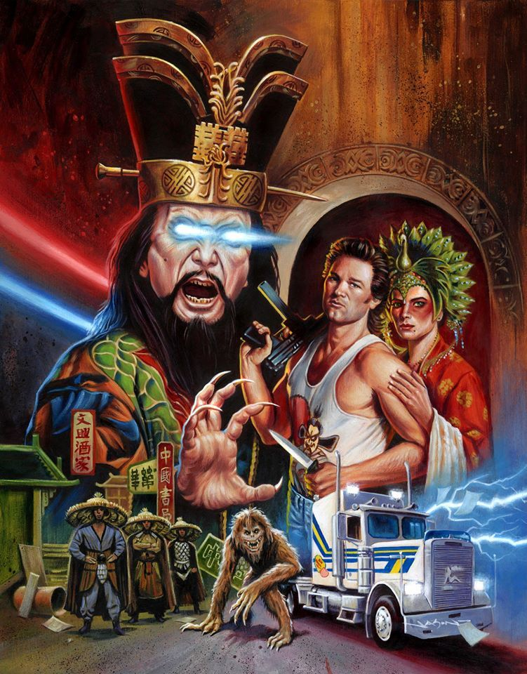 BIG TROUBLE IN LITTLE CHINA by Jason Edmiston