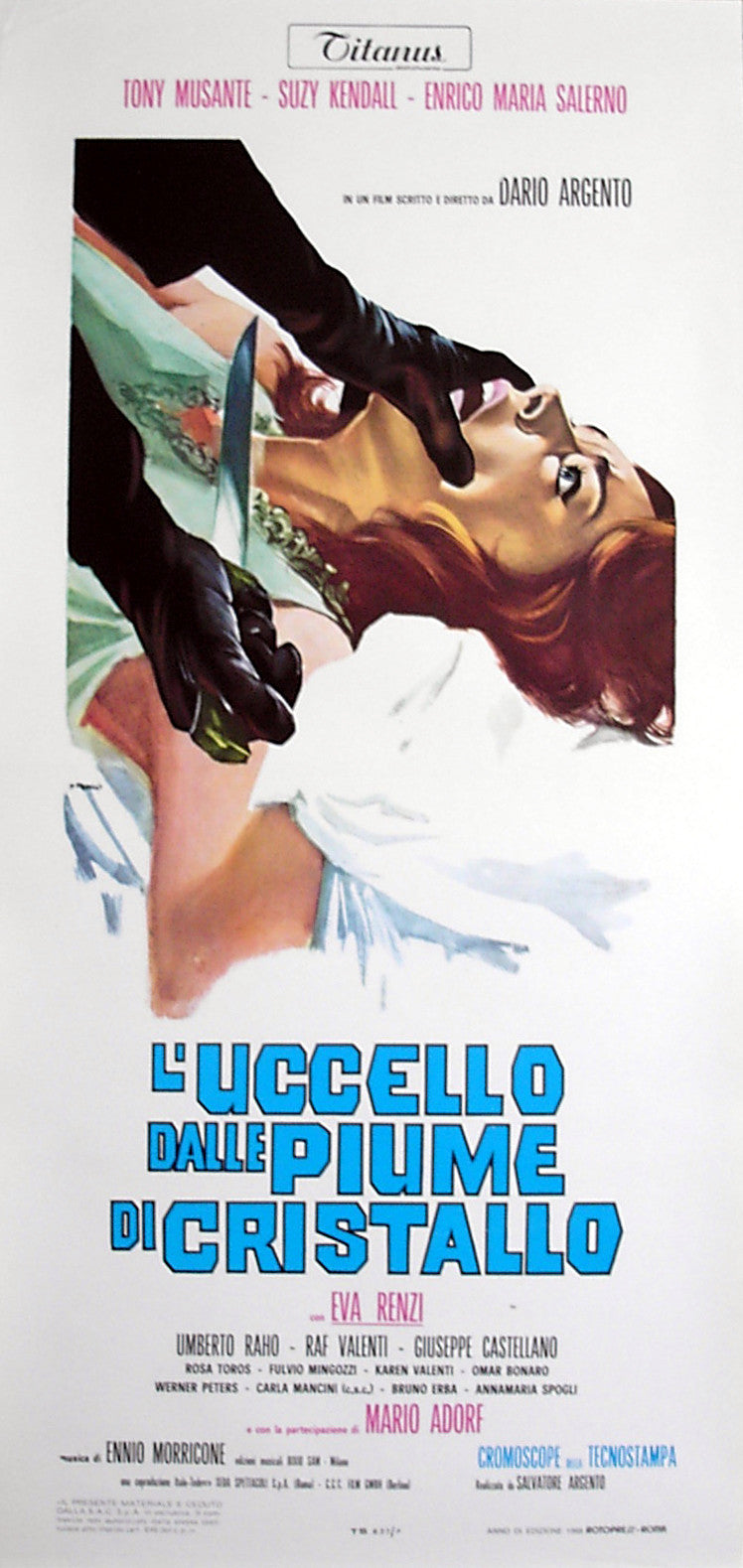 BIRD WITH THE CRYSTAL PLUMAGE, THE - Italian locadina poster