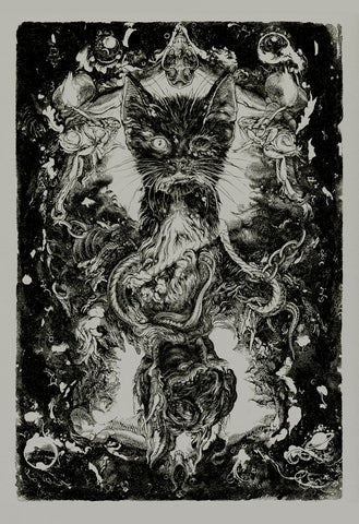 BLACK CAT, THE (grey regular) by Vania Zouravliov