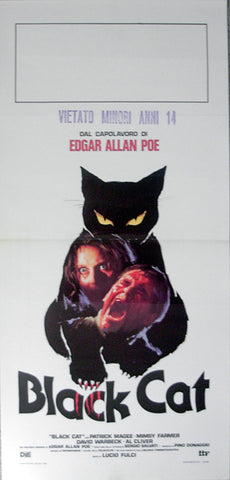 BLACK CAT, THE - Italian locadina poster