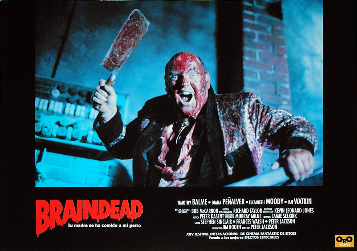 BRAINDEAD - Spanish lobby card v6