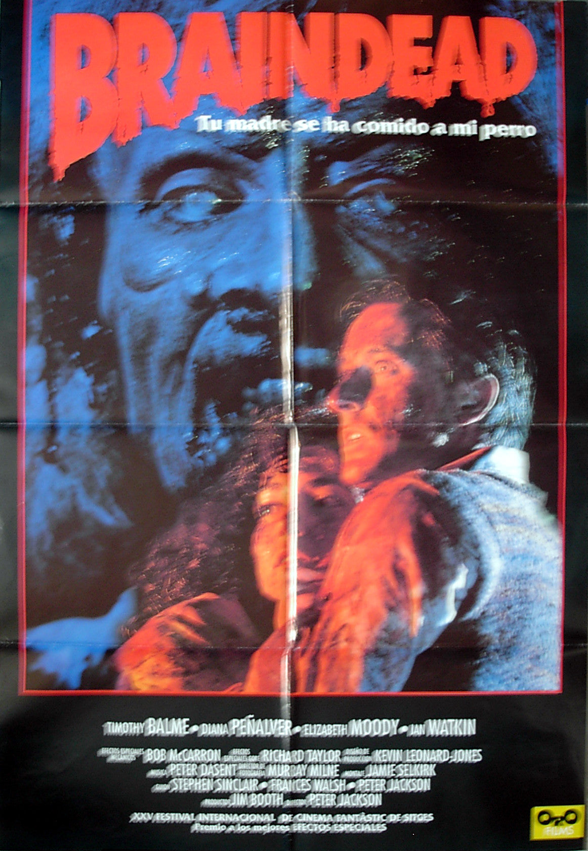 BRAINDEAD - Spanish poster
