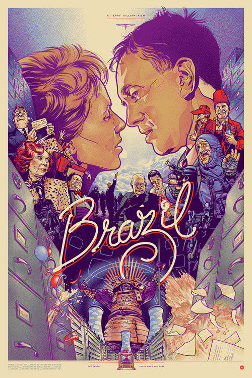 BRAZIL (regular) by Martin Ansin