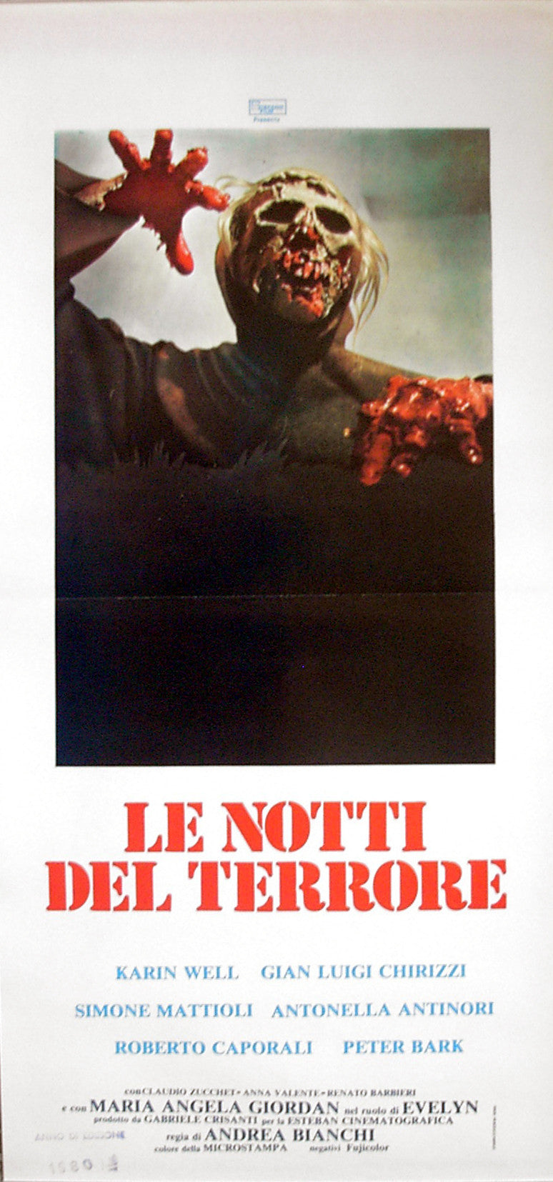 BURIAL GROUND - Italian locadina poster