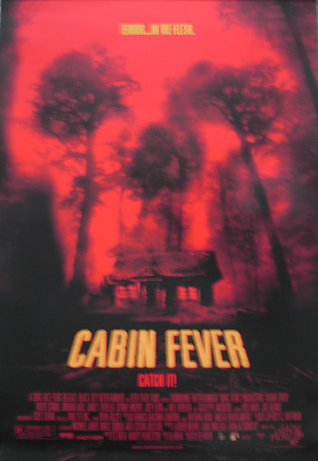 CABIN FEVER - US small promo poster