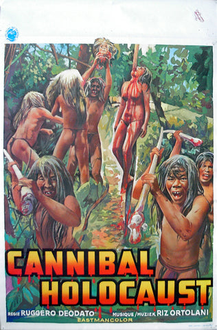 CANNIBAL HOLOCAUST - Belgian poster