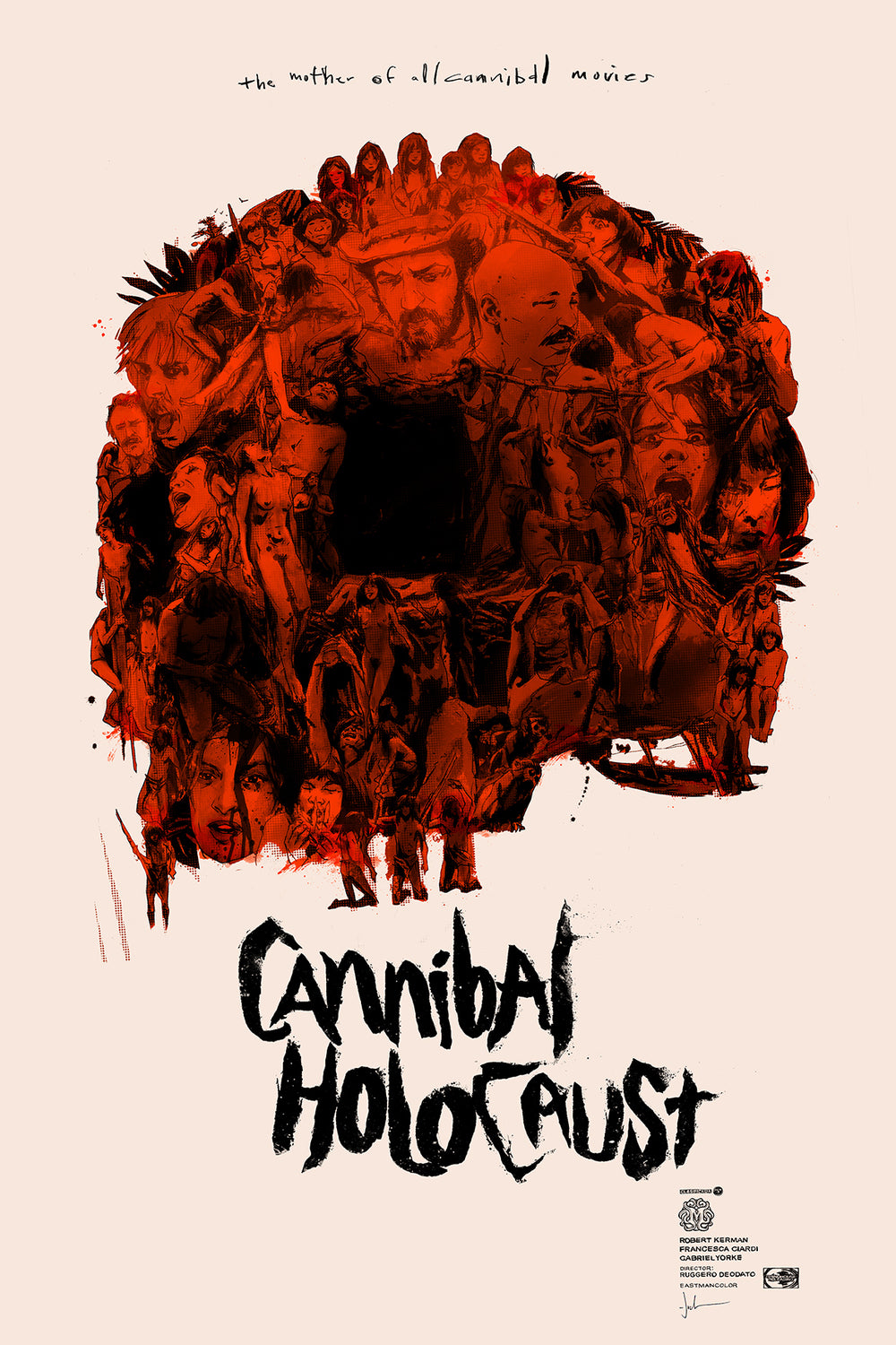 CANNIBAL HOLOCAUST (regular) by Jock