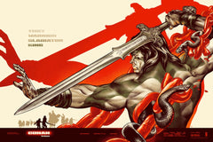 CONAN THE BARBARIAN (regular) by Martin Ansin