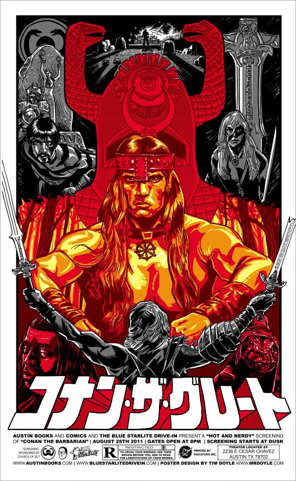 CONAN THE BARBARIAN (regular) by Timothy Doyle