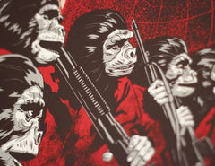CONQUEST OF THE PLANET OF THE APES (regular) by Phantom City Creative